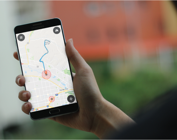 android gps tracking app