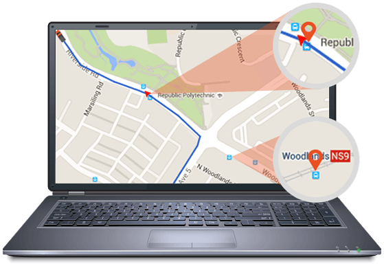 real-time GPS IoT tracking and monitoring software