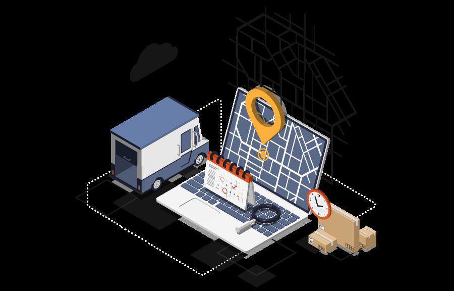 logistics iot software