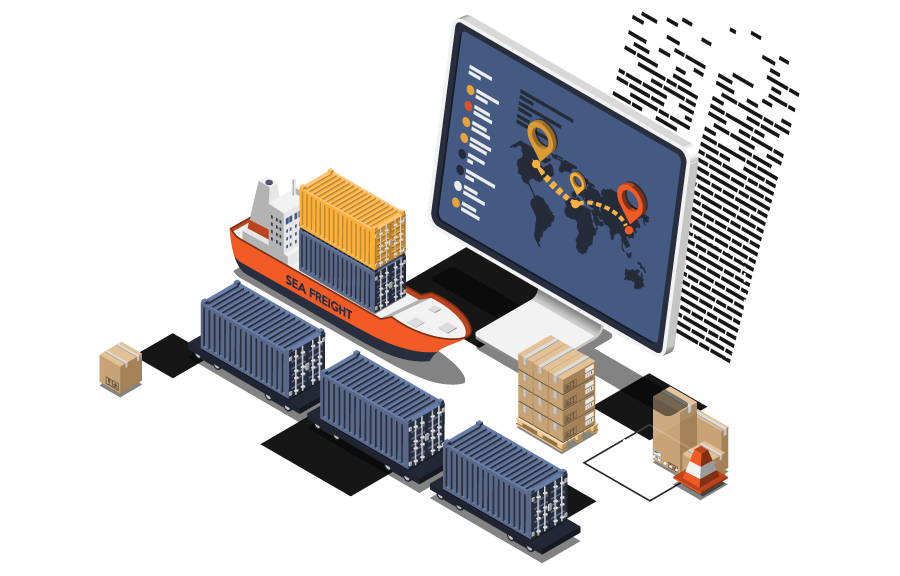 iot for freight tracking logistics